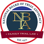 Logo Recognizing Law Office of Aaron D. Bundy, PLC's affiliation with National Board Trial Advocacy